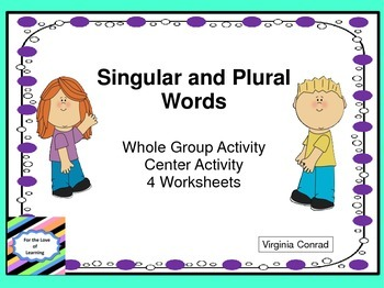 Singular and Plural Activity Center and MORE