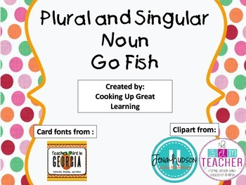 Singular and Plural Go Fish Game