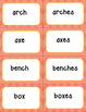 Singular and Plural Noun Sorting Cards with Recording Sheets