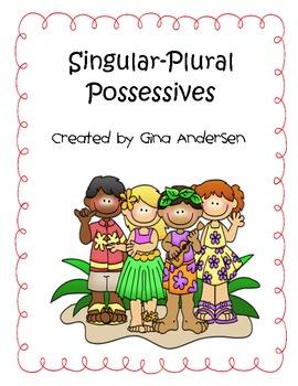 Singular and Plural Pssessives