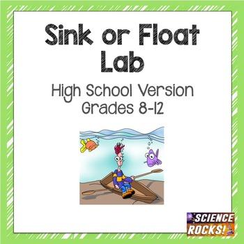 Sink or Float Lab- teaching density (high school version)