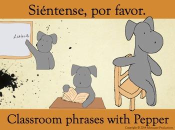 Siéntense, por favor, or Sit Down, Please, for Pepper's Cl