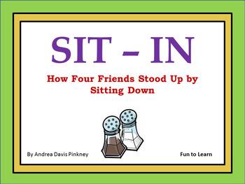 Sit-In ~ 44 Common Core Activities