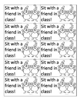 Sit with a friend Coupon