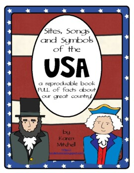 Sites, Songs and Symbols of the USA: Patriotic Reproducible Book