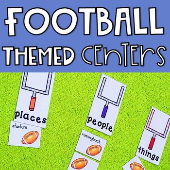 Football Centers: 4 Math and 4 ELA Centers
