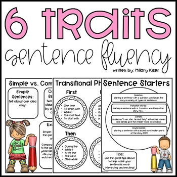 Six Traits of Writing Resource Series: Sentence Fluency (G
