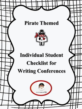 Six Traits of Writing Student Checklist for Writing Conferences