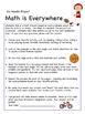 Six Weeks Math Project