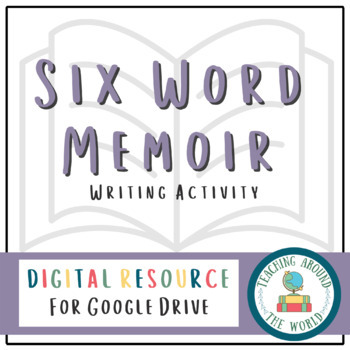 Six Word Memoir: PDF and Google Drive Resource