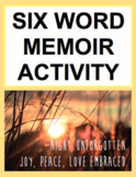 Six Word Memoir Project