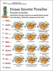 Fall-Pumpkin Activities: Sixteen Runaway Pumpkins Fall Rea