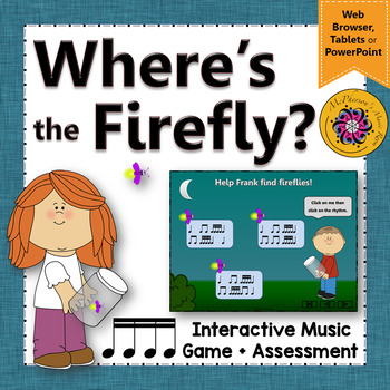 Sixteenth Notes - Where's the Firefly? Interactive Rhythm