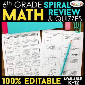 6th Grade Math Homework 6th Grade Warm Ups & Bell Work for