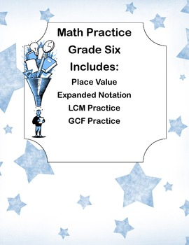 Sixth Grade Math Review
