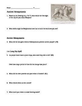 Sixth Grade Social Studies Houghton Miflin Reading Guide Unit 2