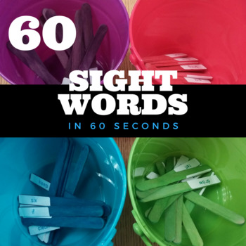 Sixty Second Sight Words