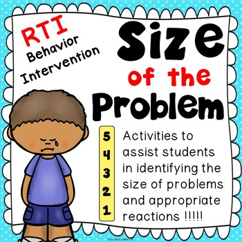 Size of the Problem: Activities RTI Behavior Intervention