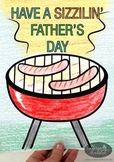 Sizzilin' Father's Day Activity
