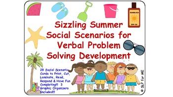 Sizzling Summer Social Scenarios for Verbal Problem Solvin