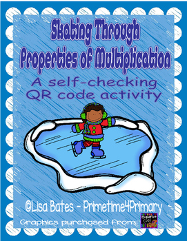 Skating Through the Properties of Multiplication: A QR Cod