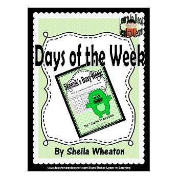 Skeezik's Busy Week: A READ TO LEARN Book About the Days o