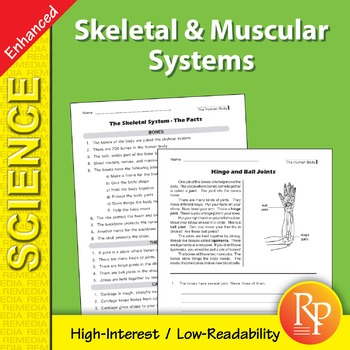 Skeletal & Muscular Systems - Enhanced