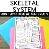 Skeletal System Nonfiction Article and Activity