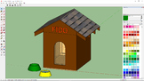 SketchUp - Modeling A Doghouse- A STEM Video Tutorial