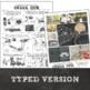 Sketchbook, Visual Journal, or Art Journal Activity: Six W