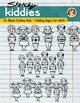Sketchy Kiddies- Doodle Kiddies holding Math Signs