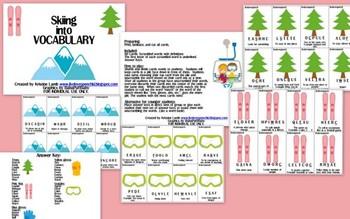 Skiing into Vocabulary