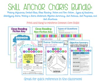 Skill Anchor Charts: Growing Bundle Pack