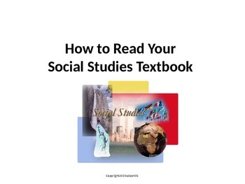 Skill Building - Cross Curricular Reading and Social Studies