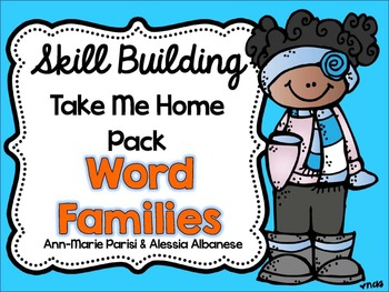 Skill Building Take Me Home Pack - Word Families