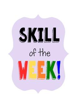 Skill of the Week Full Program: Behavior, PBIS, Social Ski