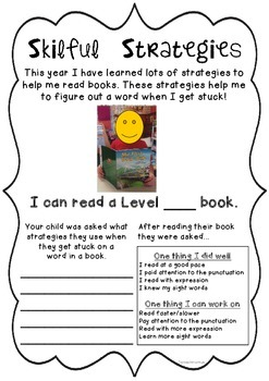 Skilful Strategies for Reading