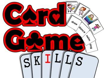 Skills PRINTABLE CARD GAME (English Communication Activity)