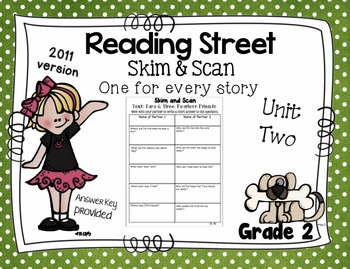 Skim and Scan Reading Street - Grade 2 Unit Two 2011 Version
