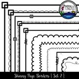 Skinny Borders 2 Clipart Bundle