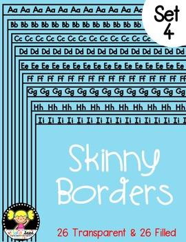 Skinny Frames {Set 4}