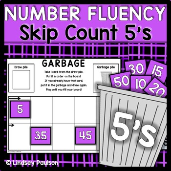 Skip Count 5s Garbage
