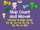 Skip Count and Move Brain Breaks
