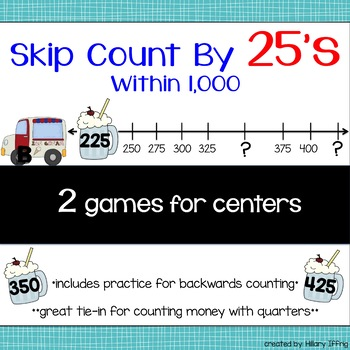 Skip Count by 25s Within 1,000
