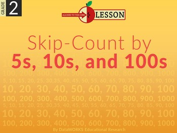 Skip Count by 5s, 10s, and 100s