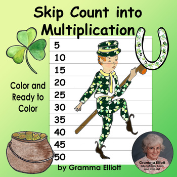 Skip Count to Learn Multiplication for St. Patrick's Day M