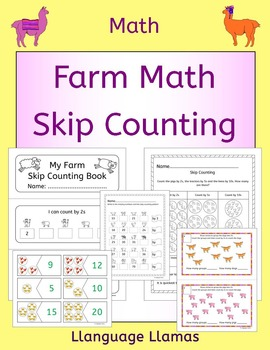 Skip Counting by 2s, 3s, 5s, 10s - Farm math