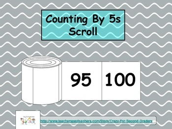 Skip Counting By 5s Scroll
