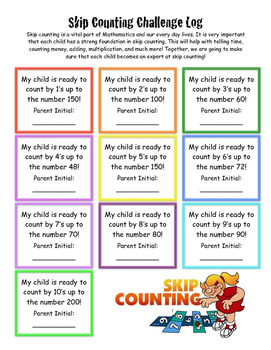 Skip Counting Challenge