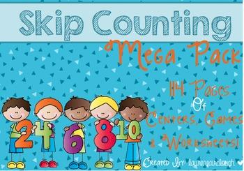 Skip Counting Mega Pack
